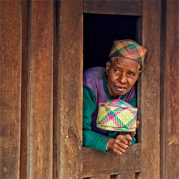 Madagascar Anziana Malgascia